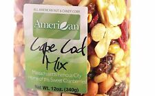 12oz Gourmet Style Bag of Cape Cod Cranberry Mix with Fruits & Nuts [3/4 lb.]