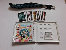 Project Mirai DX Deluxe 3DS Launch Edition Keychain + AR Cards US/CAN