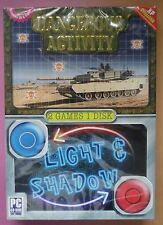 DANGEROUS ACTIVITY + LIGHT & SHADOW PC CD-ROM TWIN GAME PACK new & sealed UK !