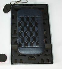 OZAKI DARE TO BE MOON GENUINE LEATHER PROTECTIVE CASE IPHONE 5 - DARK BLUE - NEW