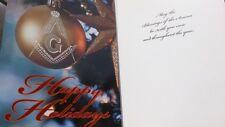 Franc Maçonnerie : Carte voeux Noël