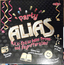 PARTY   ALIAS    /    TACTIC  -   WINNING MOVES       DAS PARTYSPIEL