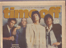 Time Off Brisbane free paper from 1994 with Rolling Stones cover