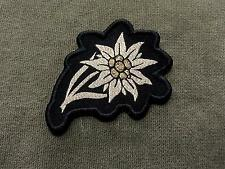 German Army Edelweiss Woven Patch Sew On