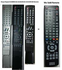 Sharp GA362WJSA AQUOS LCD TV Replace remote f LC-26D5 LC-26D5U LC-32D5 LC-32D5U