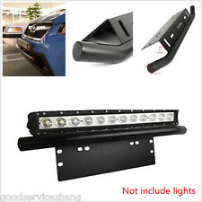 """23"""" Heavy Duty Front Bumper License Plate Mount Bracket Holder for Offroad Lamps"""