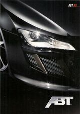 Audi R8 ABT Tuning Accessories 2009 German Market Foldout Sales Brochure