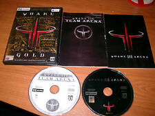 QUAKE III 3 GOLD PC/MAC FPS SHOOTER V.G.C. FAST POST  ( includes arena & team )