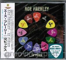 Sealed! KISS-ACE FREHLEY 12 Picks JAPAN CD RCCY-1007 w/GUITAR PICK+OBI Free S&H