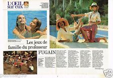 Publicité advertising 1981 (2 pages) Michel Fugain