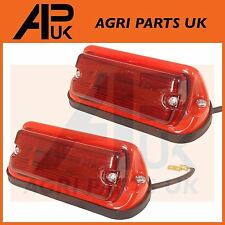 PAIR Massey Ferguson 135,148,165,175,178,185,188 Tractor Rear Fender Lights Lamp