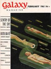Virgil Finlay Galaxy EVELYN E SMITH Damon Knight MURRAY LEINSTER Bob Ritter 1961
