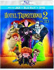 Hotel Transylvania 1&2 3D TWO Movie Set Blu-Ray Discs ONLY! No 2D/DVD/DC