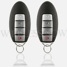 2 Replacement For 2008 2009 2010 2011 2012 2013 Infiniti G37 Key Fob Remote