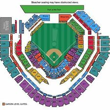 6 Spectacular Front Row Tickets Los Angeles Dodgers @ San Diego Padres 9-28
