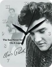 Elvis presley the sun never sets ON A LEGEND-blechuhr Horloge Montre Clock 80