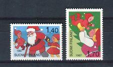 Finlandia/Finland 1987 serie Natale MNH