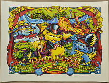 Phil Lesh & Friends Brooklyn Coney Island Poster by AJ Masthay 2016 Capitol Thea
