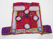 Kuchi Afghan Tribal Belly Dancing Handmade ATS Choli TOP Vintage Crop TOP CT-044