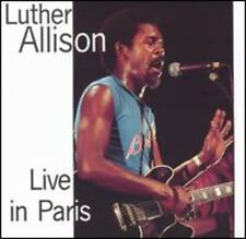 Live In Paris - Luther Allison (2004, CD NEUF)