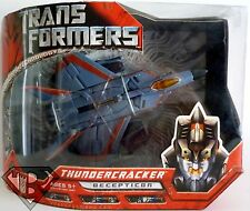 THUNDERCRACKER Transformers Movie 1 Voyager Class Decepticon Figure 2007