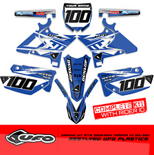 2002-2014 YAMAHA YZ 125-250 Restyle UFO DIRT BIKE MOTOCROSS GRAPHIC DECALS 21MIL