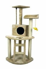 """48"""" Cat Tree Tower Condo Furniture Scratch Post Kitty Pet House Play Sisal Pole"""