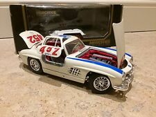 rare Mercedes 300 SL gull wing 1/18 BOXED model car