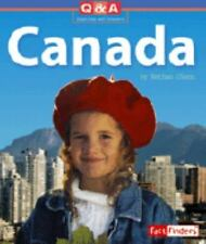 Canada: A Question and Answer Book (Fact Finders: Questions and Answer-ExLibrary