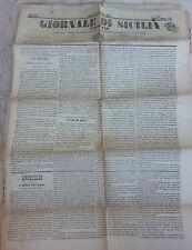 Giornale di Sicilia officiale anno XII n° 245 (27 ottobre 1874) bollo Palermo 1c