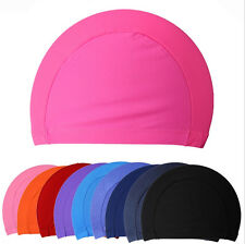 Black Easy to operate  FLEXIBLE LIGHT DURABLE SPORTY SWIM Swimming Cap