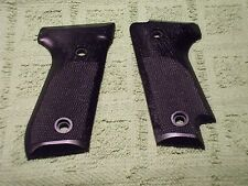 Custom Grips for Beretta Model 92S Black Fits 92S Model Only