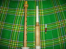 Cornamusa SCOZZESE LEGNO pratica Chanter con Reed-coccus LEGNO