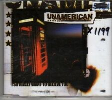 (CM114) Unamerican, I So Really Want To Believe You - 2001 CD