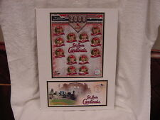 VERY SCARCE St. Louis Cardinals 2008 USPS Team Photo/Postal Cache, MINT!