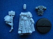 40K SPACE MARINE CAPTAIN COMMANDER CHAPTER MASTER IN POWER ARMOUR **NEW** (P1)