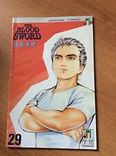 THE BLOOD SWORD nr 29  -  in inglese  JADEMAN COMICS