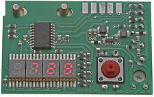 NEU   Zähler, Counter für Revox A77 mit Nullunterdrückung, rot, 5,1mm Höhe   NEU
