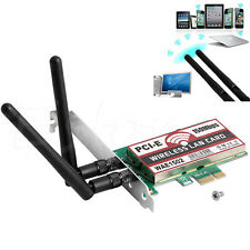 Wireless 150M PCI-E PCI Express Card Cordless WIFI Network LAN Ethernet NIC
