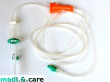 5 Infusionsbesteck Intrafix® Air P,für Druck- und Schwerkraftinfusionen,180 cm