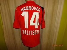 "Hannover 96 Original Diadora Heim Trikot 2005/06 ""TUI"" + Nr.14 Balitsch Gr.M- L"