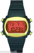 NEW ADIDAS UNISEX CANDY DARK GREY,GREEN & PINK DIGITAL WATCH-ADH6068