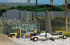 Busch 9632, Mini Welt: Feldwerkstatt H0 Modellwelten Bausatz 1:87