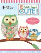 Leisure Arts STITCHED SO CUTE 53 EMBROIDERY PROJECTS Designs by MARY ENGELBREIT