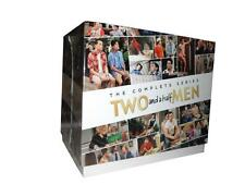 """Two and a Half Men Complete Series- 41-DVD Box Set NEW!!"