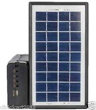 GdLite Solar Power 3 LED Lamp Lighting System Powerbank USB Out Charge Cellphone