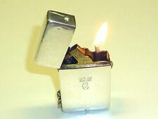 RICHARD KOHN 925 ENGLISH STERLING SILVER IMPERATOR LIGHTER - 1911 - AUSTRIA-RARE