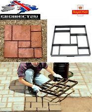 NEW 2017 UK DIY Heavy Duty Patio Path Maker Mould Paving Brick Stone Garden