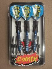 Viper Comix Darts Blue 22g Steel Tip Darts 22-1502-22 22150222 w/ FREE Shipping