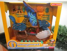 Imaginext Serpent Pirate Ship Fisher-Price Christmas Kohl's Blue Boat Toy NEW
